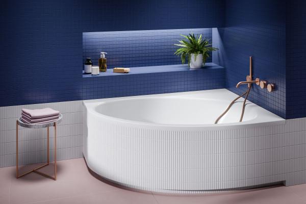 Okolice wanny i prysznica to strefa mokra w łazience, tu dochodzi do największej liczby wypadków. Dlatego urządzając to miejsce, trzeba trzymać się kilku zasad.