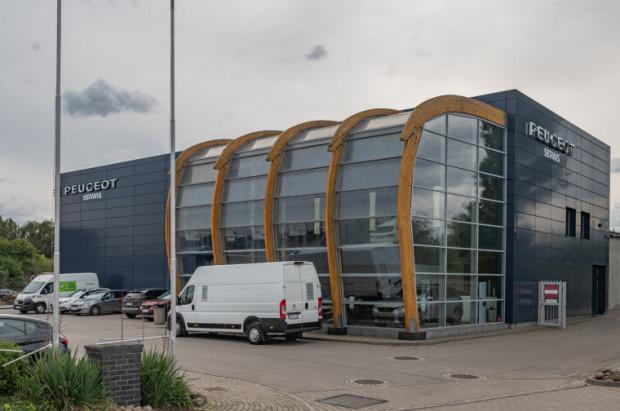 Autoryzowany serwis Peugeot Intervapo działa przy ul. Elbląskiej.