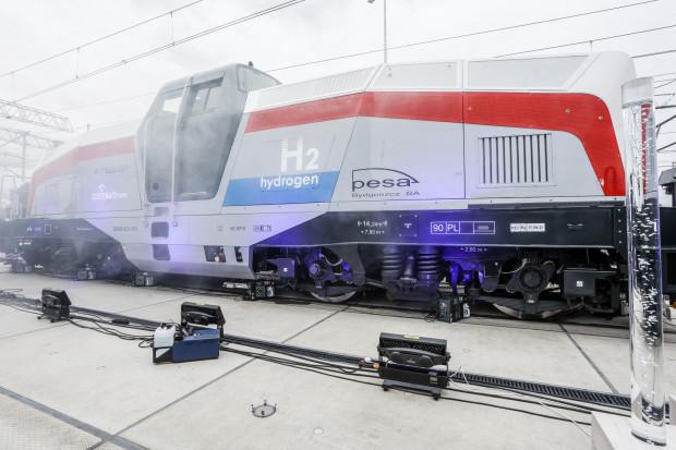 Najwięcej zainteresowania wzbudza pierwsza polska lokomotywa wodorowa bydgoskiej Pesy.
