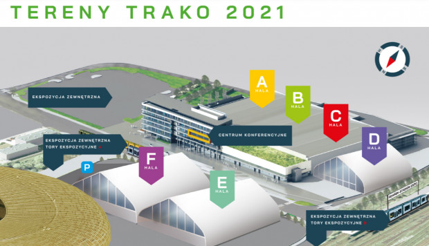 Tereny Trako 2021.