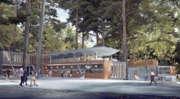 Koncepcja budynku wystawienniczego zaprezentowana przez architektów