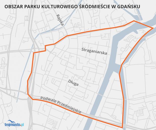 Obszar parku kulturowego w Gdańsku został już wyznaczony. Teraz rozpoczynają się prace nad regulacjami, które będą tutaj obowiązywać.