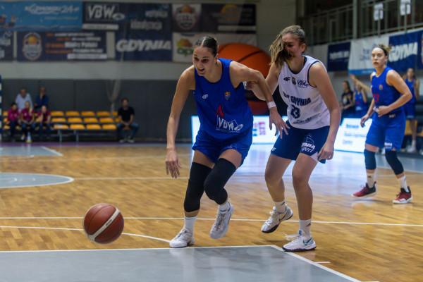 VBW Arka skończyła przygotowania do sezonu dwoma wygranymi sparingami. Na zdjęciu Ana-Marija Begić.