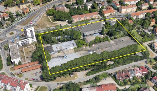 Należący przez lata do Poczty Polskiej teren między ul. Zabytkową a Partyzantów we Wrzeszczu ma niemal 28 tys. m kw. powierzchni.
