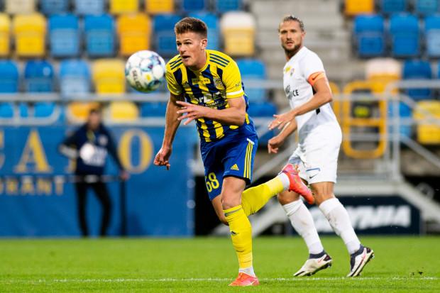 Karol Czubak strzelił oba gole w meczu Arka Gdynia - Puszcza Niepołomice 2:0.