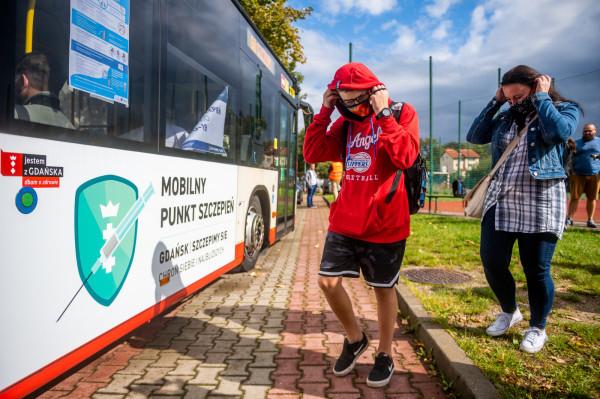 Organizatorzy akcji szczepień w gdańskich szkołach liczyli na większe zainteresowanie profilaktyką.