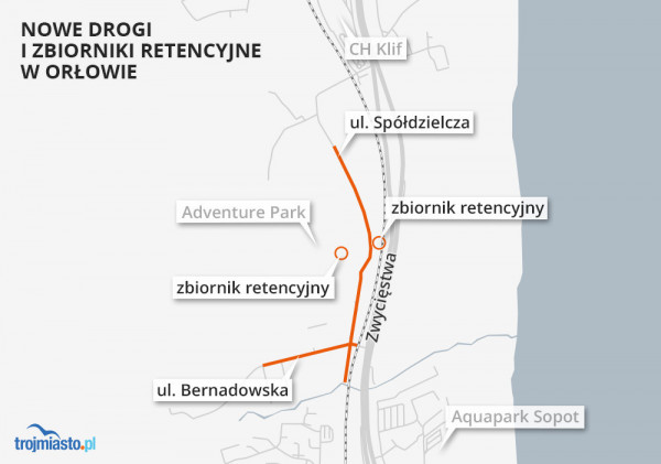 Prace przy przebudowie ul. Bernadowskiej oraz budowie fragmentu Spółdzielczej zakończą się w I kwartale 2022 roku.