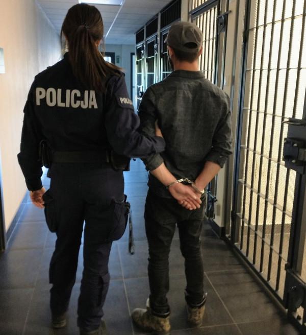 28-letni obywatel Turcji zatrzymany dzięki pomocy nastolatków.