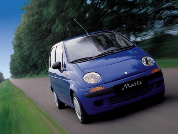 Daewoo Matiz - najszybciej sprzedające się auto w naszym kraju.