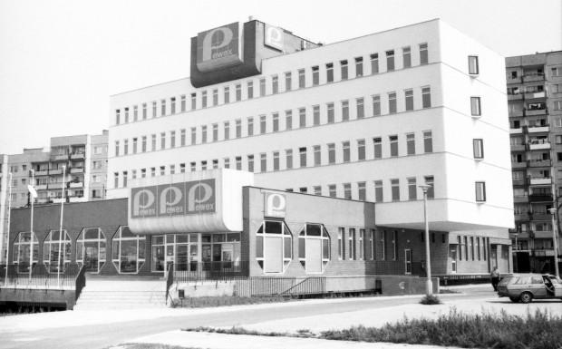 Pewex był w PRL-u synonimem luksusu. Na zdjęciu biurowiec Peweksu na gdańskiej Zaspie.