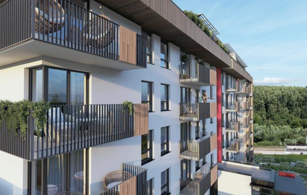 W nowej ofercie Wiszących Ogrodów przy ulicy Szczęśliwej znalazło się 68 mieszkań dwu-, trzy- i czteropokojowych o powierzchni od 39 do 90 m kw.