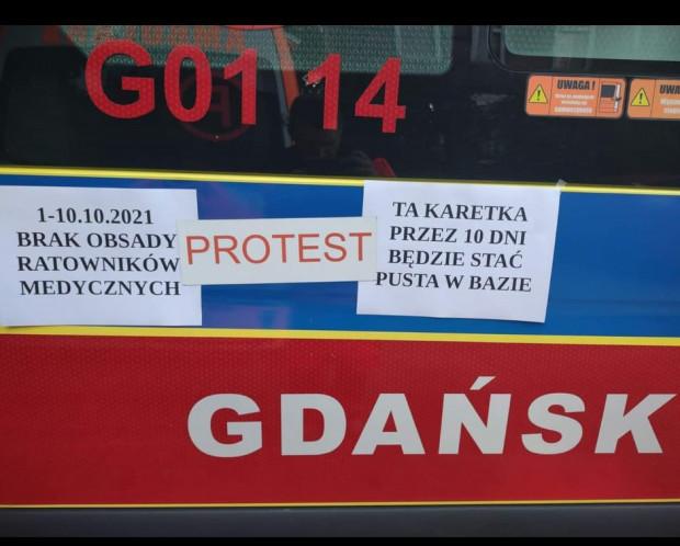 Rozpoczął się ogólnopolski protest ratowników. Karetki nie wyjechały między innymi w Gdańsku i Sopocie.