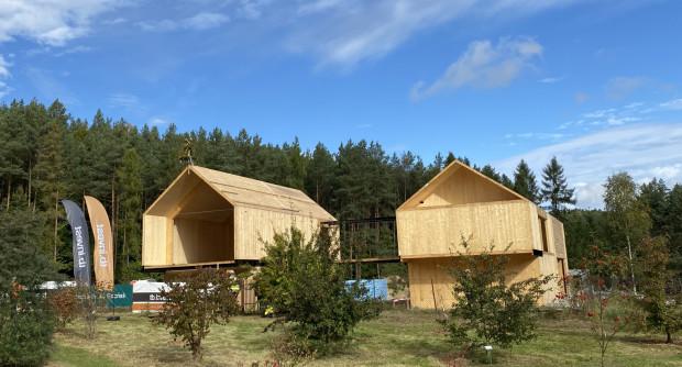 Nowe obiekty w Leśnym Ogrodzie Botaniczynym w Maszewie mają być gotowe w listopadzie 2022 roku.