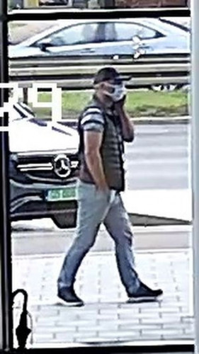 Policja szuka mężczyzn, którzy mogą mieć związek z kradzieżą.