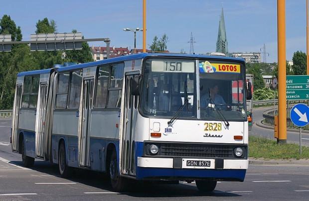Ikarusy były obecne w Gdyni przez kilkanaście lat.