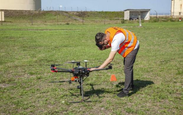 Port Gdańsk planuje niebawem rozpocząć testy wodnego drona.