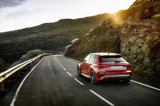 Nowe Audi RS3 Sportback.