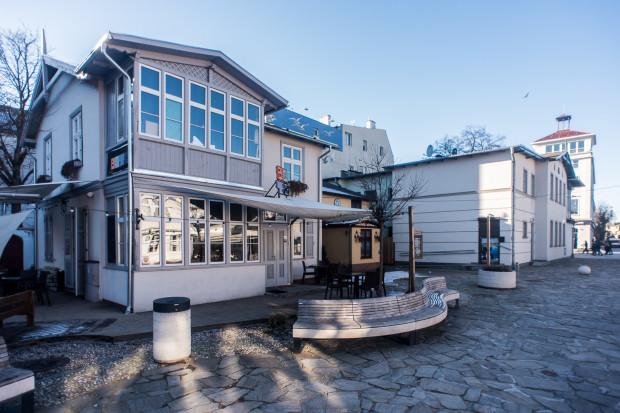Teatr BOTO ma swoją siedzibę w Sopocie przy Monciaku.