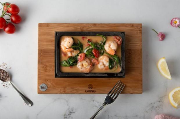 Dania z restauracji GRINO charakteryzują się najwyższą jakością.