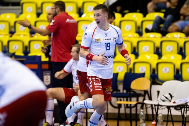 Mateusz Kosmala rzucił w Zabrzu 9 z 23 bramek dla Torus Wybrzeża.