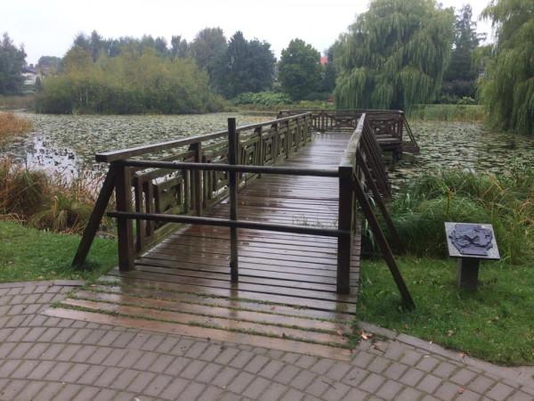 Molo w parku Chirona jest zamknięte od trzech lat. Niedługo ma się to zmienić.