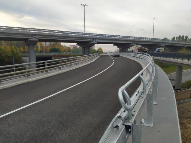 Od poniedziałku kierowcy mogą już korzystać z wiaduktu prowadzącego na Chełm.