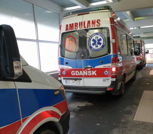 Wszystkie zespoły ratownicze wróciły do pracy w gdańskiej Stacji Pogotowia Ratunkowego.