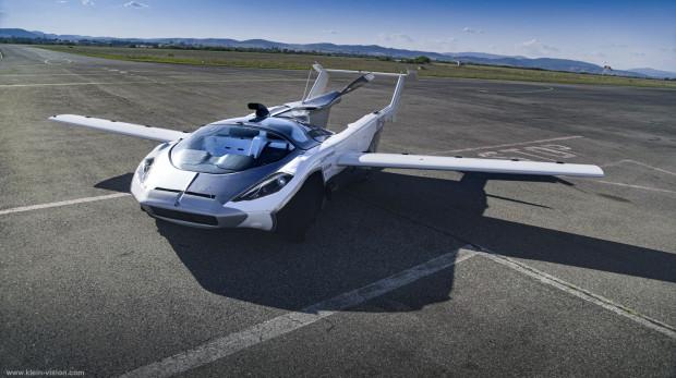 Pojazd AirCar odbył bardzo ważny test w chmurach. Zdał go na piątkę.