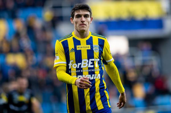 Olaf Kobacki od czasu wypożyczenia z Atalanty Bergamo do Arki Gdynia strzelił 4 gole i zanotował 2 asysty.