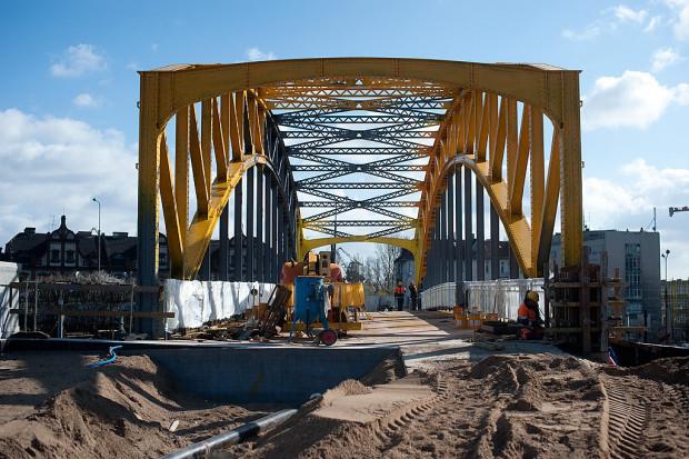 Żółty Wiadukt remontowano w latach 2011-2012.