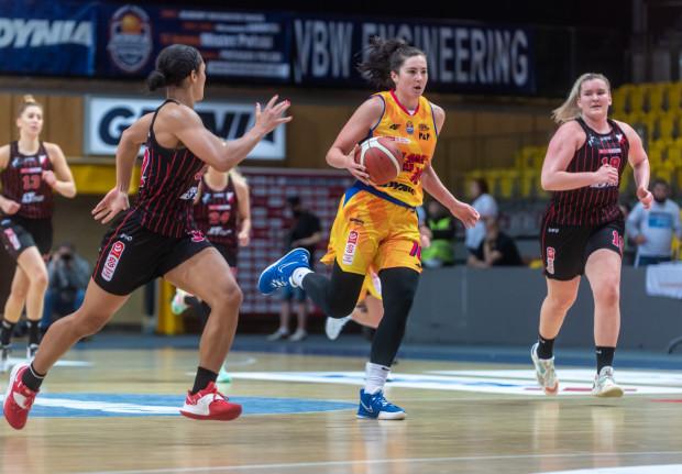 Megan Gustafson w dotychczasowych meczach VBW Arki Gdynia była najskuteczniejszą koszykarką.
