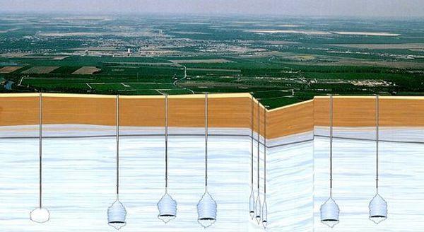 Podziemne kawerny solne wykorzystywane są do przechowywania gazów lub paliw ciekłych.