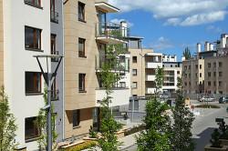 Oliwa Park. Osiedle w środku miasta. W tym roku zostały oddane do użytku kolejne budynki i centrum rekreacji.