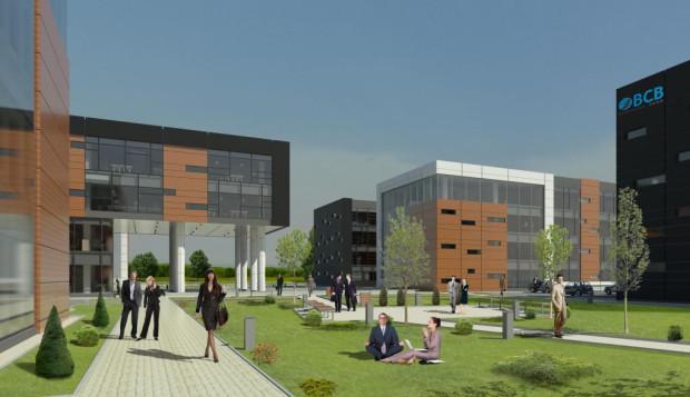 Budowa pierwszego budynku kompleksu BCB Business Parku właśnie się kończy. W grudniu wynajęto w nim kolejne 4 tysiące metrów kwadratowych powierzchni biurowej.