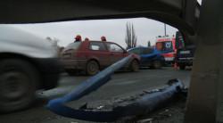 Uszkodzone pojazdy.