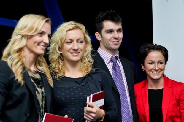 Nadzieje SKLA na medale w Londynie (od lewej): Anna Rogowska, Karolina Tymińska, Mateusz Didenkow oraz Marta Jeschke.