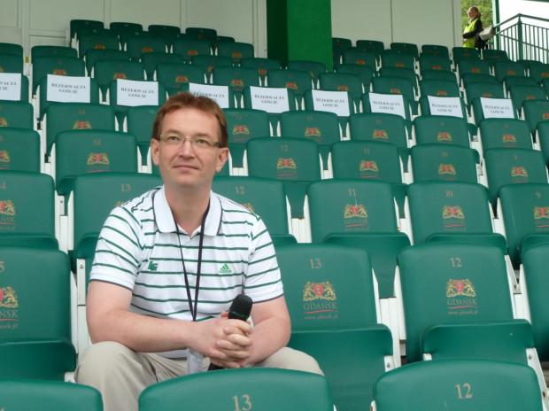 Marcin Gałek rolę spikera Lechii pełni nieprzerwanie od 2004 roku. Jego praca na Euro 2012 będzie jednak znacznie różniła się od tej podczas meczów ligowych.