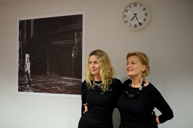 Lidia Popiel (z lewej) i Urszula Wielochowska