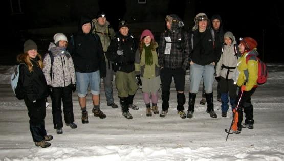 Wybierz się wraz ze śniegołazami na nocną wędrówkę szlakiem Kartuskim!