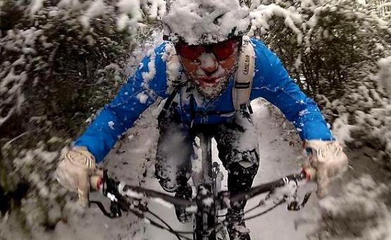 Zima, czy nie zima, sezon na rower trwa przez cały rok!