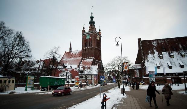 Kościół św. Katarzyny w centrum Gdańska.
