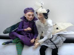 """Już 3 i 4 marca kolejna premiera dla dzieci - """"Śpiącą królewnę"""" zaprezentuje Luba Zarembińska (lalki zaprojektowała i wykonała Grażyna Rigall)."""