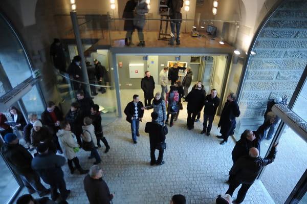 Na parterze znajdzie się nowoczesne centrum informacji turystycznej.