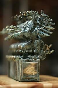 Gryf - statuetka, którą otrzymuje laureat Pomorskiej nagrody Artystycznej