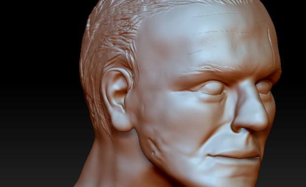 Policjanci z gdańskiego Archiwum X często używają najnowszej techniki, aby rozwiązać sprawy sprzed lat. Tu zrekonstruowana komputerowo, na podstawie samej czaszki, twarz jednej z ofiar.