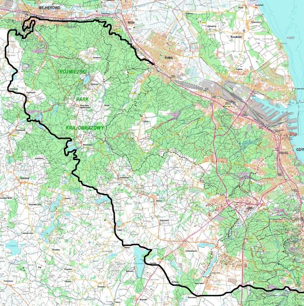 Kliknij i powiększ mapę naszej wycieczki