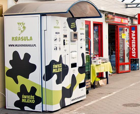 Mlekomat w Orłowie jest najbardziej popularny.