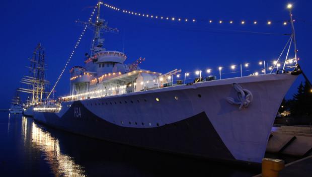 ORP Błyskawica - okręt, który uratował brytyjskie Cowes.