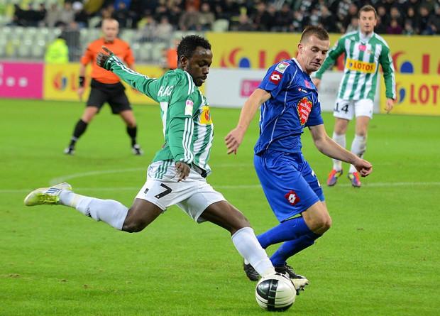 Abdou Razack Traore jest w licznym gronie piłkarzy, którzy mogą odejść z Lechii po tym sezonie.