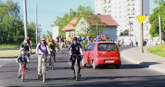 Majowa, Rowerowa Masa Krytyczna przejechała ulicami Gdyni
